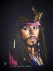 graziella gd artiste peintre pastel johnny depp portrait