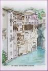 aquarelle graziella gd artiste paysage vercors pont-en-royans